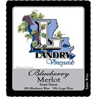 Landry Vineyards Blueberry Merlot